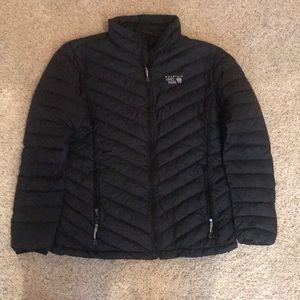 Black heavy jacket